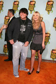 Wolfgang Van Halen and Amanda Michalka — Stock Photo