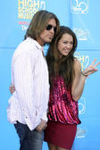 Billy Ray & Miley Cyrus — Stock Photo
