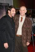 Javier Bardem and John Malkovich — Stock Photo