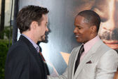 Robert Downey Jr & Jamie Foxx — Stock Photo