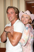 Kyle Lowder, Lesley-Anne Down — Stockfoto