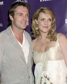 Michael Shanks, Amanda Tapping — Stockfoto