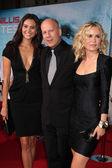 Emma Heming, Bruce Willis, Radha Mitchell — Stock Photo