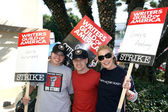 Sara Ramirez, TR Knight , Katherine Heigl — Stock Photo