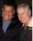Lawrence Fishburne & William Petersen — Stock Photo