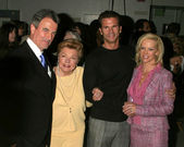 Eric Braeden, Esther Williams, Lorenzo Lamas, Barbara Moore — Stock Photo