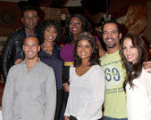 Darius McCrary, Angell Conwell, Julia Pace Mitchell,Bryton James, Tonya Lee Williams, Kristoff St John, Christel Khalil Hensley — Stock Photo