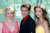 Leven Rambin, Thomas Dekker, & Summer Glau — Stock Photo