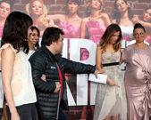 Tanya Haden, Jack Black, Kristen Wiig, Maya Rudolph — Stock Photo