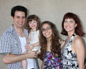 Ronnie Marmo & Family — Stock Photo