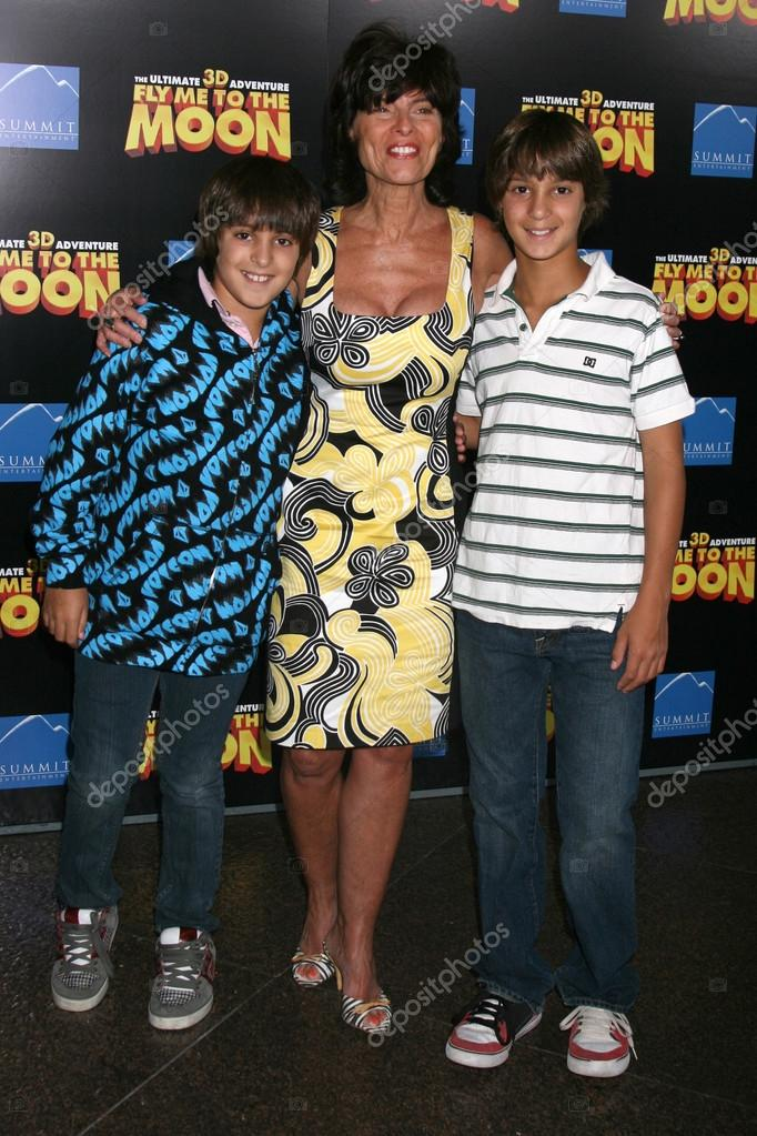 Adrienne Barbeau and sons