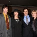 Ronn Moss, Devin DeVasquez Moss, Rick Hearst and mom — Stock Photo #13095245