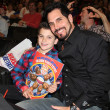 Don Diamont & Son — Stock Photo