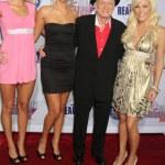 ������, ������: Kristina & Karissa Shannon Hugh Hefner & Crystal Harris