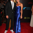 Joshua Morrow & Wife Tobe — Stock Photo