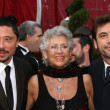 Javier Bardem, mother and brother  — Stock Photo