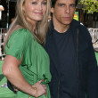 Christine Taylor & Ben Stiller - Stock Photo