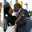 Angela Bassett and Forest Whitaker — Stockfoto