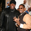 Stock Photo: Barry Bonds & Martin Lawrence