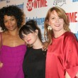 Rose Rollins, Mia Kirshner, & Laurel Holloman — Stock Photo