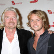 Richard Branson, Sam Branson — Stock Photo #13099821