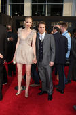 Leslie Bibb & Sam Rockwell — Stock Photo