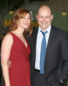 Sandra & Rob Corddry — Stock Photo