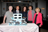 Susan Flannery, Brad Bell, Heather Tom, Scot Clifton, Lee Bell — Stock Photo