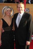 Lee Majors & Wife — Stock Photo