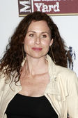 Minnie Driver and friend Lily — Stock Photo