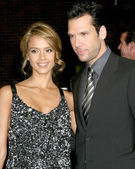 Jessica Alba and Dane Cook — Stock Photo