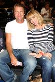 Vince Van Patten and Eileen Davidson — Stock Photo