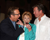 Doug Davidson, Jeanne Cooper, Peter Bergman — Stock Photo