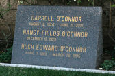 Carroll O'Connor Grave — Stock Photo