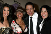 Roselyn Sanchez, Lisa Vidal, Yancy Arias, and Maria Conchita Alonso — Foto Stock