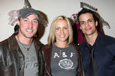 Kyle Lowder, Arianne Zuker, and Matt Cedeno — Foto Stock
