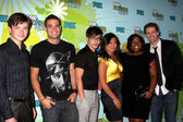 Cast di glee — Foto Stock