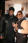 Barry Bonds & Martin Lawrence — Stock Photo