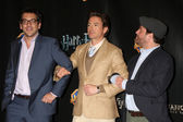 Todd Phillips, Robert Downey Jr, Zach Galifianakis — Stock Photo