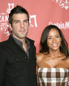Zachary Quinto, Dania Ramirez Spike — Stock Photo
