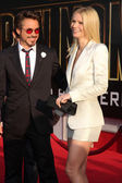 Robert Downy Jr. & Gwyneth Paltrow — Stockfoto