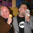 Ben Cohen & Jerry Greenfield — ストック写真