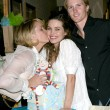Melody Thomas Scott & Amelia Heinle, and Thad Luckinbill — Stock Photo