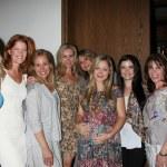 Jessica Collins, Michelle Stafford, Genie Francis, Eileen Davidson, Jess Walton, Marcy Rylan, Jessica Heap, Kate Linder — Stock Photo #13109297
