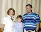Cazador allan y sus padres — Foto de Stock