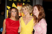 Eva Longoria, Felicity Huffman, and Dana Delany — Stock Photo