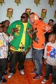 Sean Kingston & Chris Brown — 图库照片