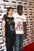 Annie Duke & Don Cheadle — Stock Photo