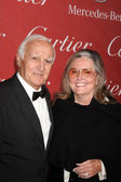 Robert Loggia, Wife Audrey — Stock Photo
