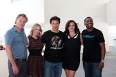 Bill Pullman, Alexa Havins, John Barrowman, Eve Myles, Mekhi Phifer — Stock Photo